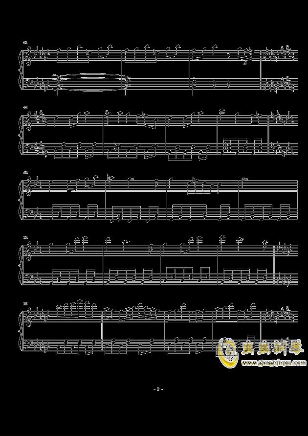 我的将军啊钢琴曲简谱-さな小さな贤将钢琴谱, 小さな小さな贤将钢琴谱网, 小さな小さな