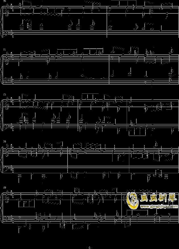 机械后生钢琴谱 第6页