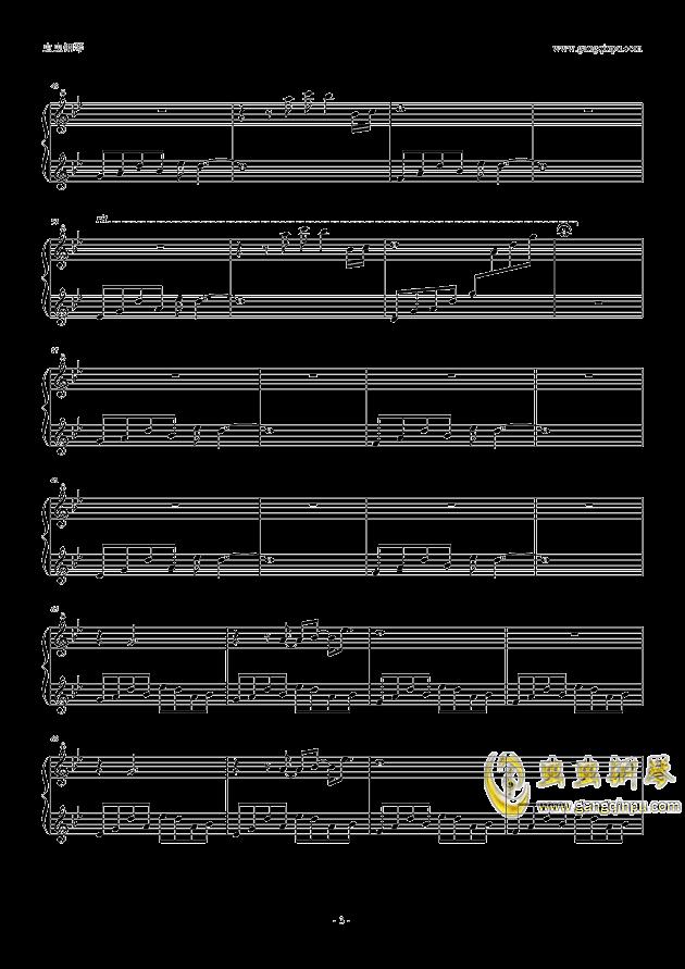 足音,冬の足音钢琴谱,冬の足音钢琴谱网,冬の足音钢琴谱大全,