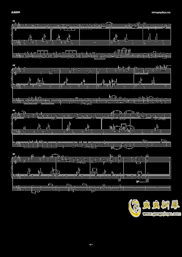 endless path钢琴曲谱