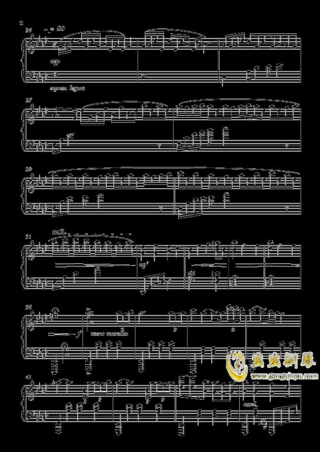 pF-AdLib II 钢琴谱 第2页