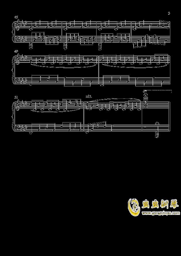 pF-AdLib II 钢琴谱 第3页