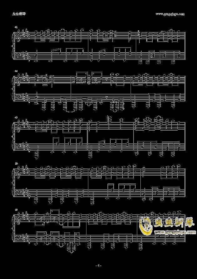 only my railgun钢琴谱 第4页