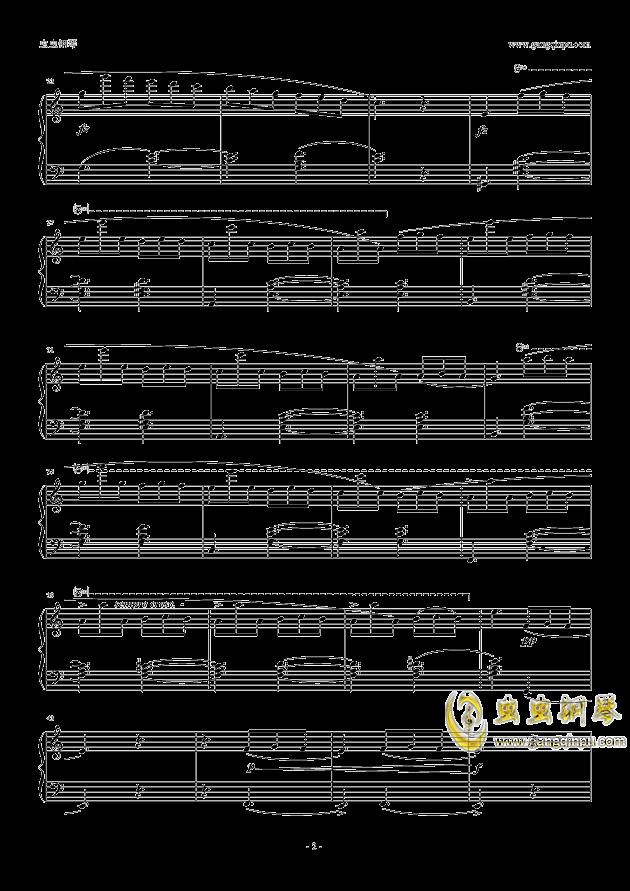 塔兰泰拉舞曲钢琴谱 第2页