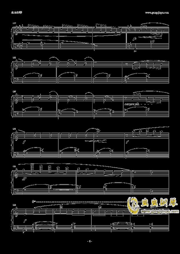 塔兰泰拉舞曲钢琴谱 第6页
