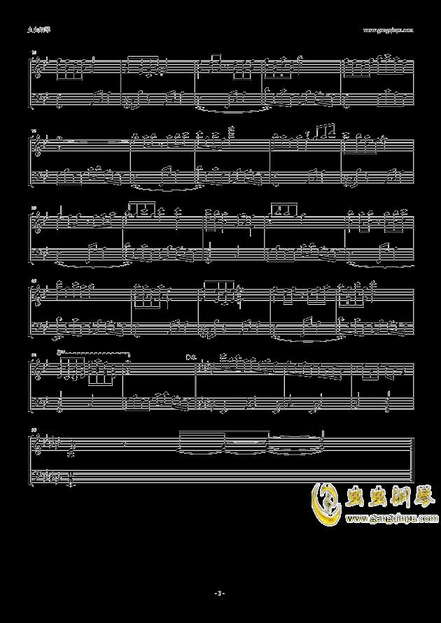 魔法少女�_の百年祭钢琴谱 第3页