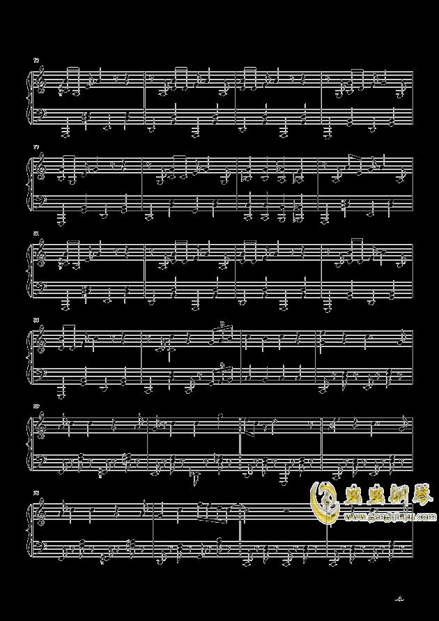超级马里奥钢琴谱 第4页