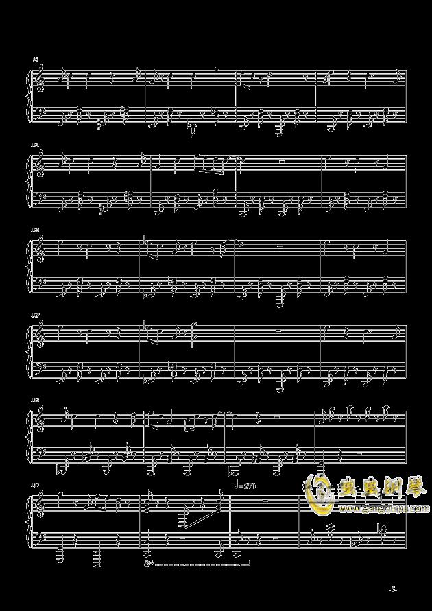 超级马里奥钢琴谱 第5页