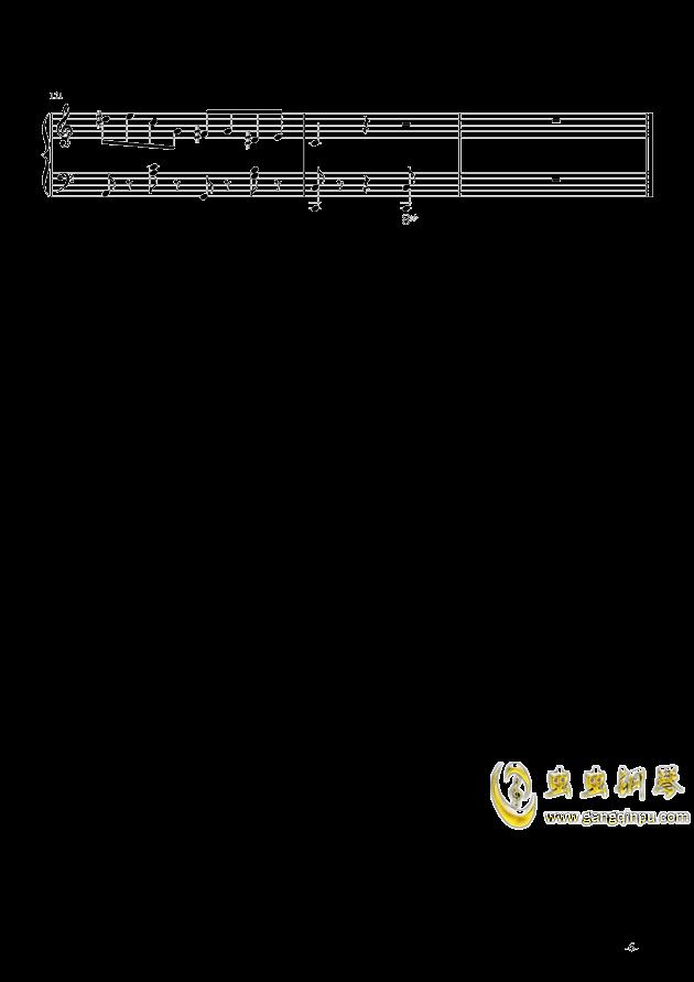 超级马里奥钢琴谱 第6页