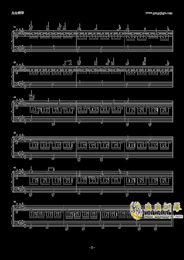 魔法密林训练场钢琴谱 第3页