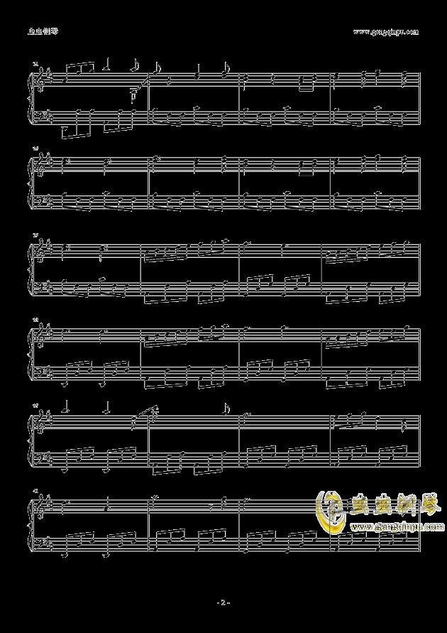玩具城主城钢琴谱 第2页