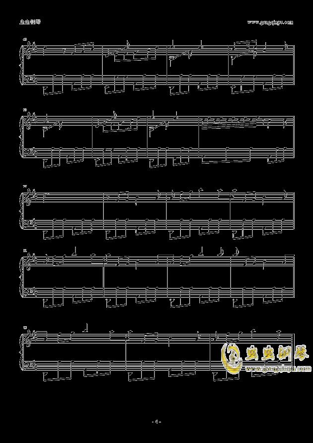 玩具城主城钢琴谱 第4页