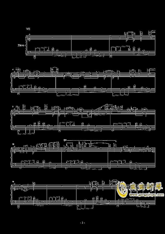 冥想集钢琴谱 第27页
