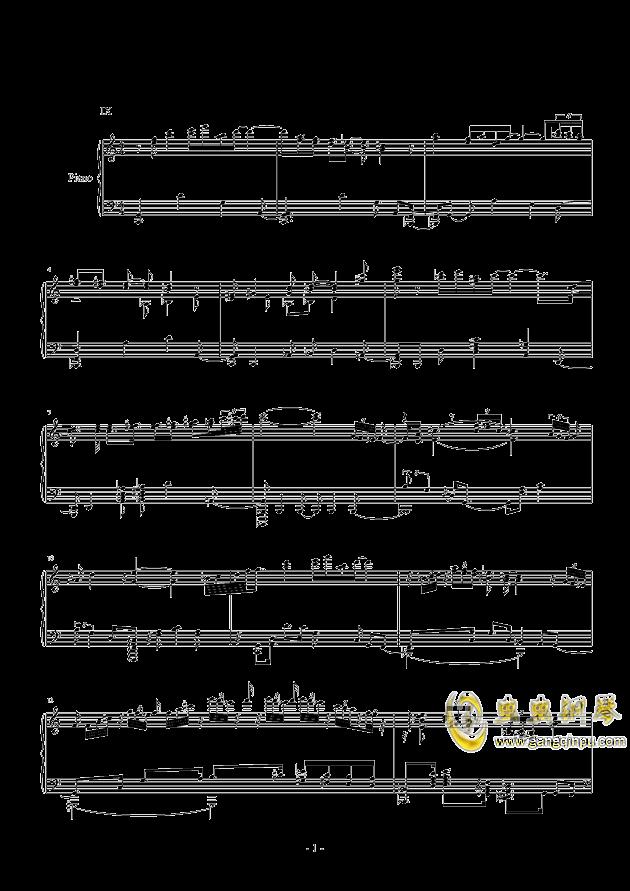 冥想集钢琴谱 第34页