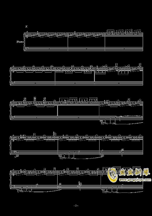 冥想集钢琴谱 第4页