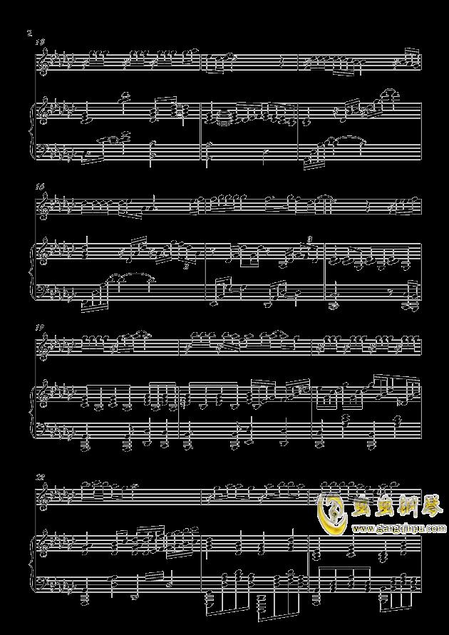 炫耀钢琴谱 第2页