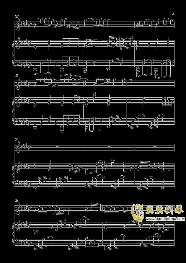 炫耀钢琴谱 第3页