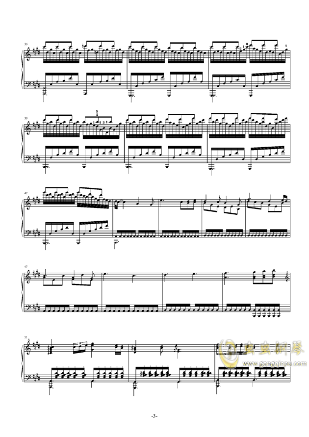 遗忘天堂钢琴谱 第18页