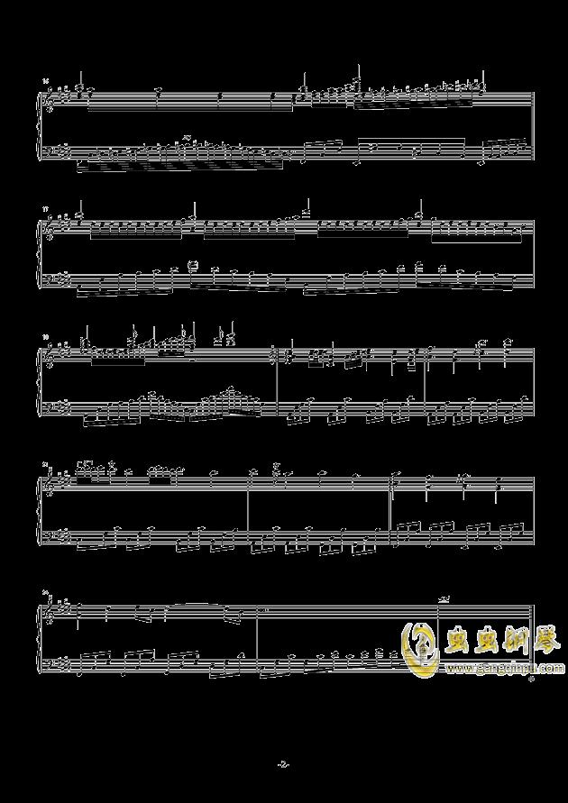 遗忘天堂钢琴谱 第2页
