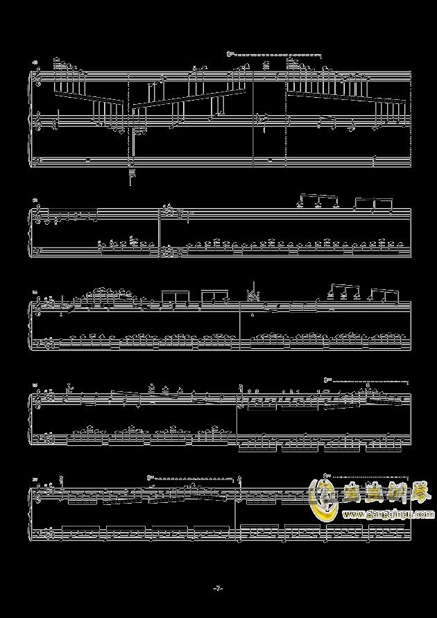 遗忘天堂钢琴谱 第9页