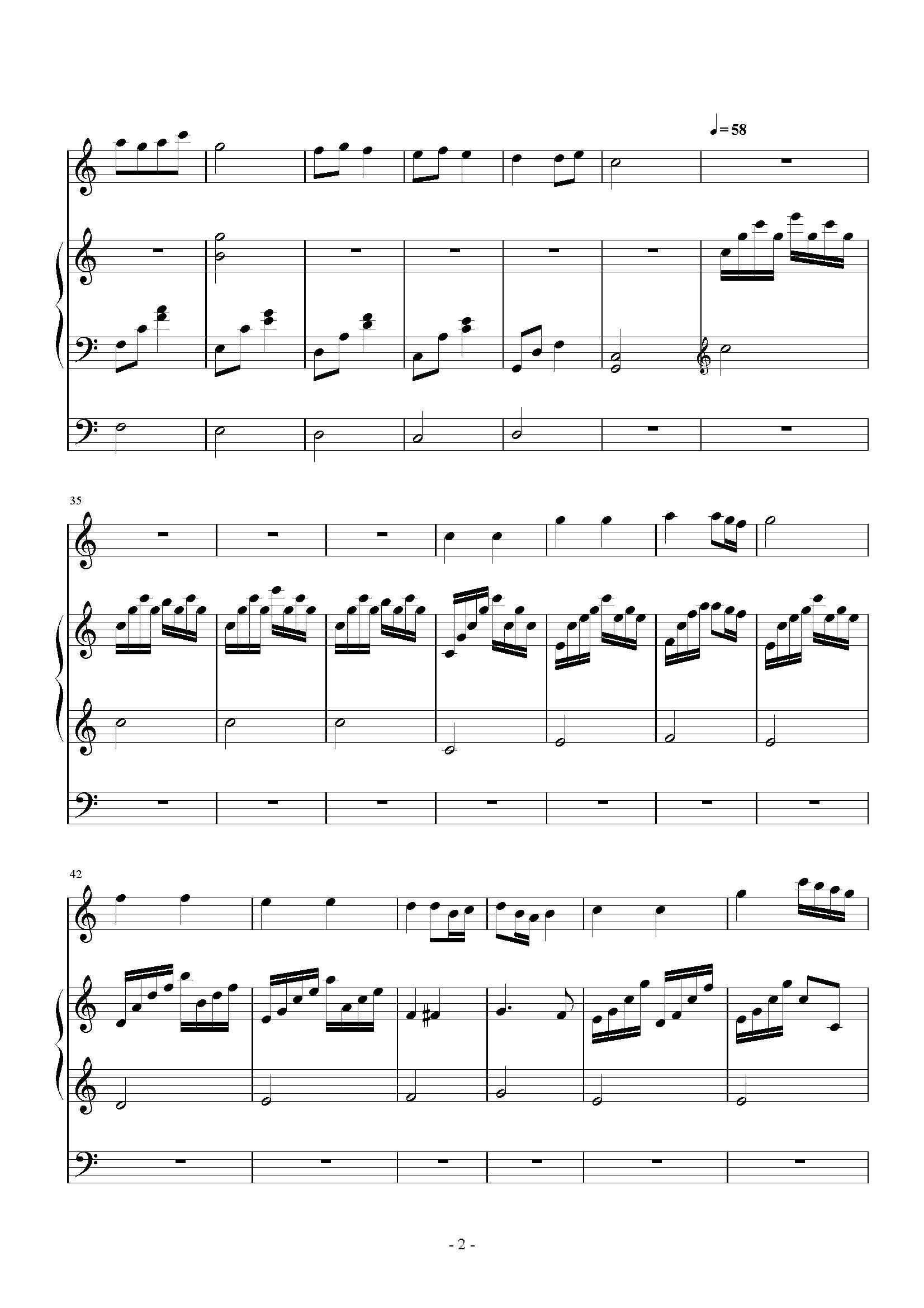 小星星 小提琴三声部版 ,小星星 小提琴三声部版 钢琴谱,小星星 小提