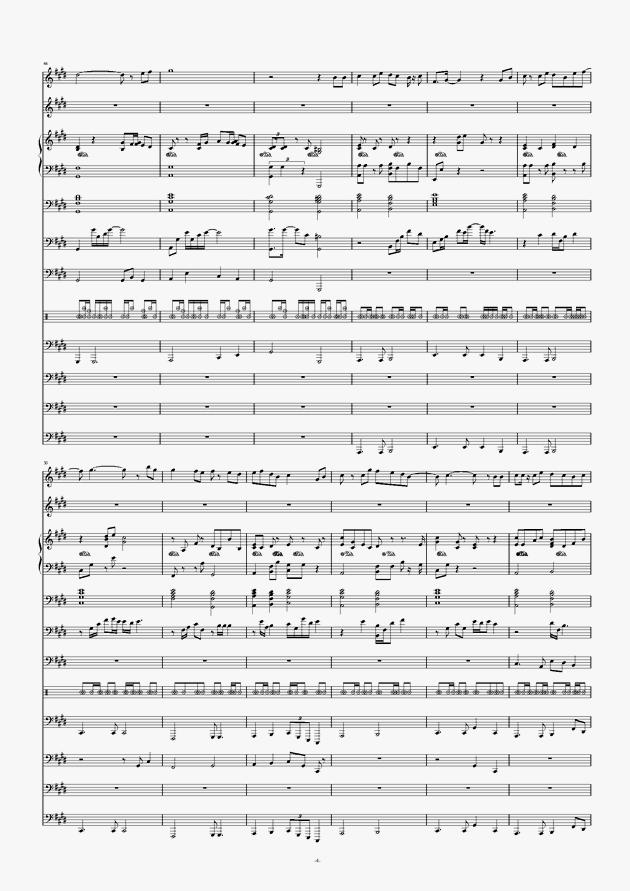 画心钢琴谱 第4页