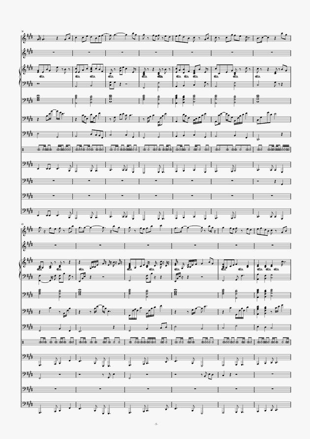 画心钢琴谱 第5页