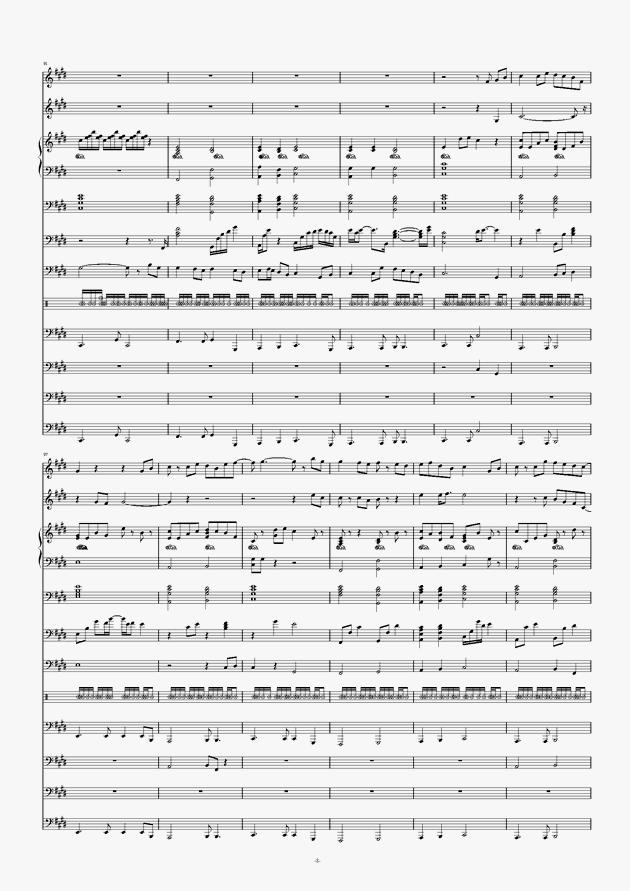 画心钢琴谱 第8页