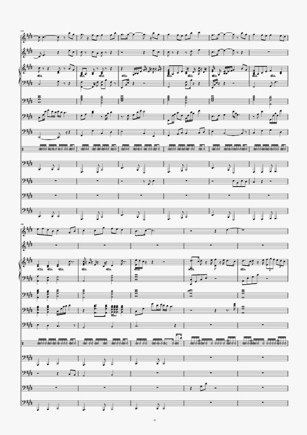 画心钢琴谱 第9页