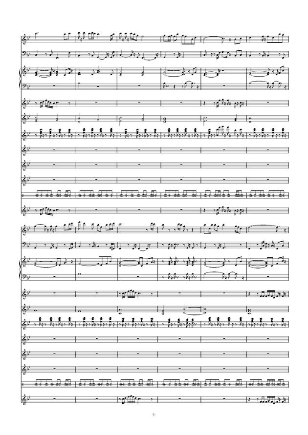 爱拼才会赢钢琴谱 第2页