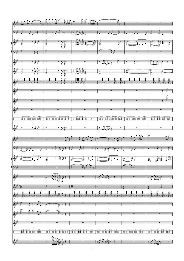 爱拼才会赢钢琴谱 第3页