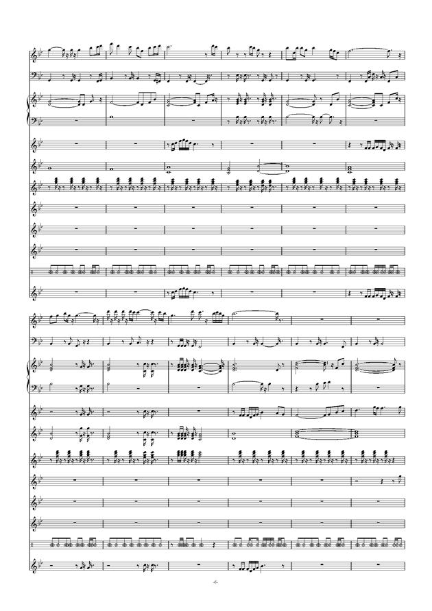 爱拼才会赢钢琴谱 第6页
