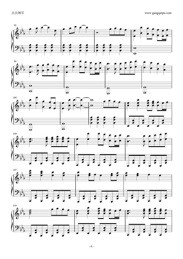 Reunion钢琴谱 第6页