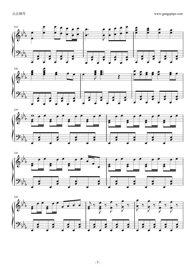 Reunion钢琴谱 第7页