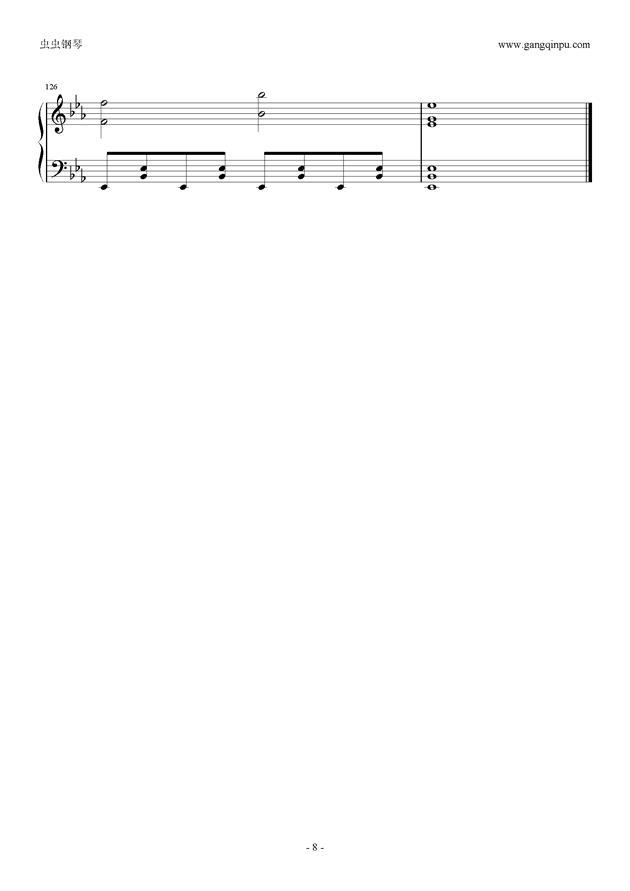 Reunion钢琴谱 第8页
