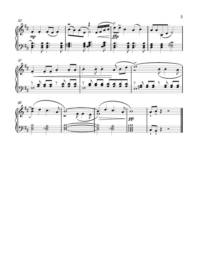葫芦兄弟 钢琴谱