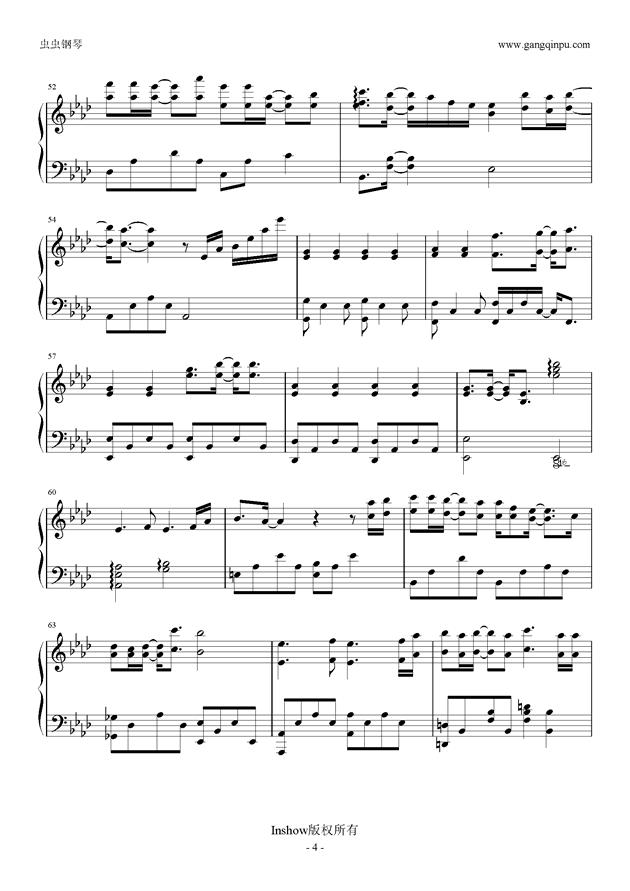 My Sunshine钢琴谱 第4页