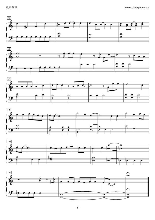 it Go 钢琴C大调儿童简单版