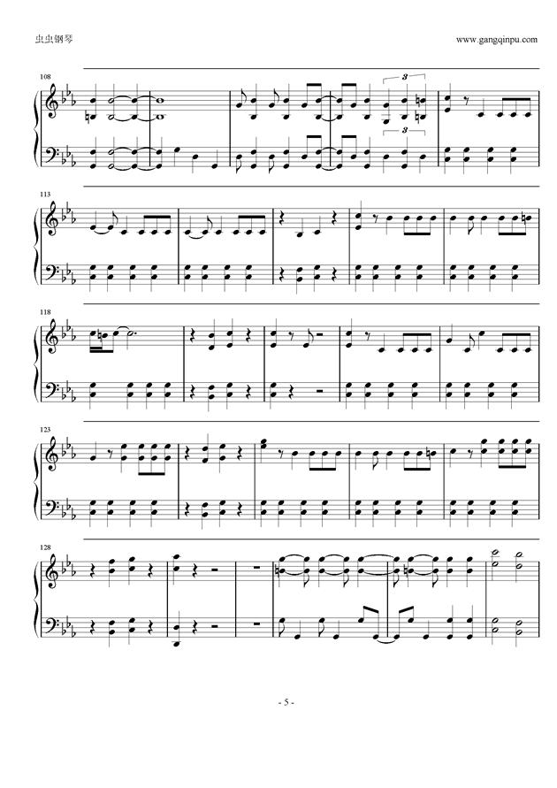 宇宙的种子钢琴简谱