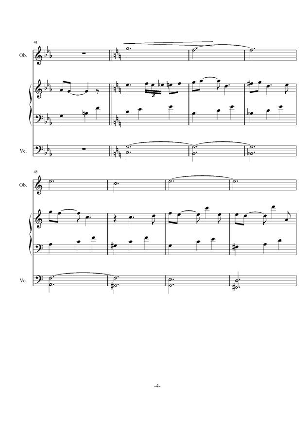 庸才日记 NO.2钢琴谱 第4页