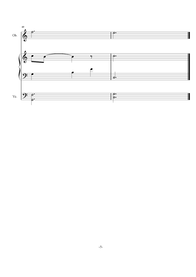 庸才日记 NO.2钢琴谱 第5页
