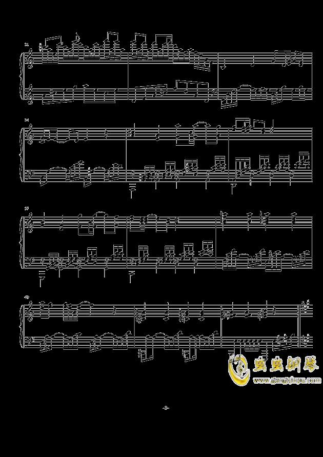 无言相知钢琴谱 第3页