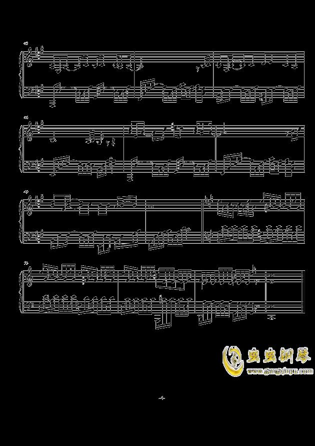无言相知钢琴谱 第4页