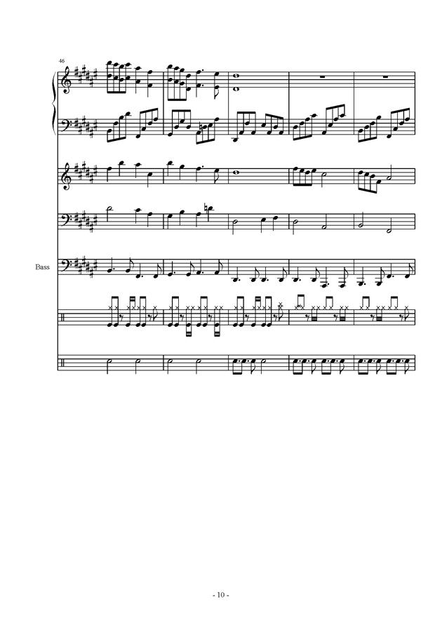叹月曲谱-雨萧兮君再叹 总谱 ,雨萧兮君再叹 总谱 钢琴谱,雨萧兮君再叹 总谱