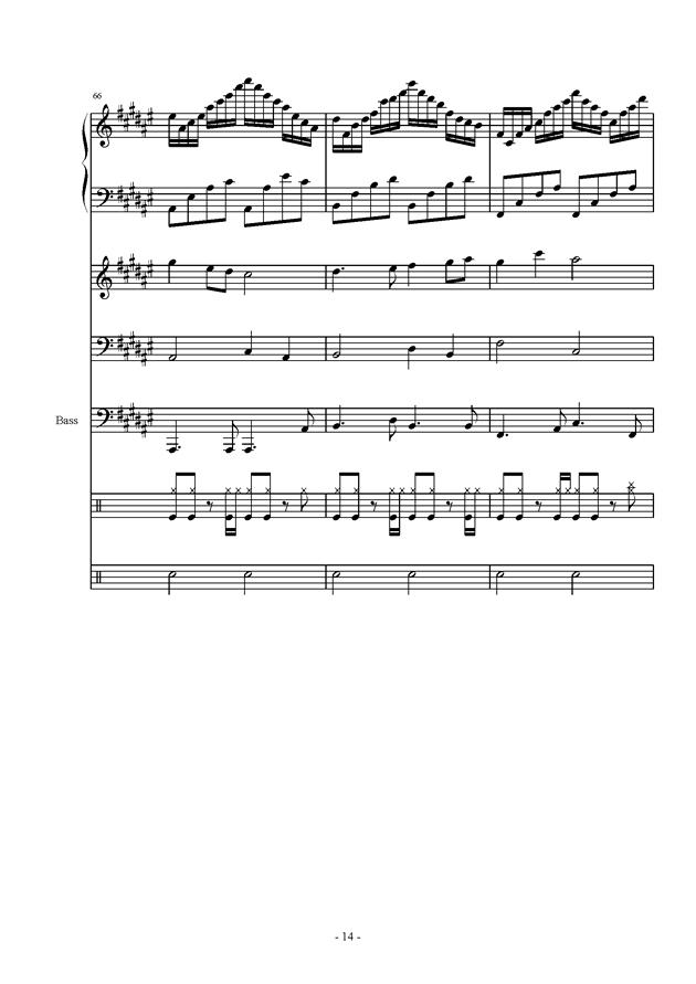 叹云兮钢琴曲谱-君再叹 总谱 钢琴谱,雨萧兮君再叹 总谱 钢琴谱网,雨萧兮君再叹