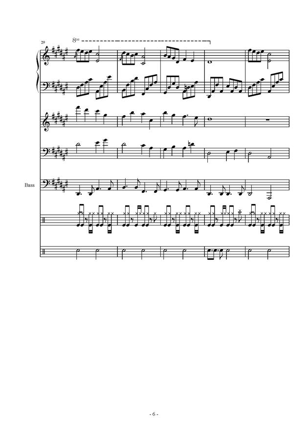 《萧》乐谱-雨萧兮君再叹 总谱 ,雨萧兮君再叹 总谱 钢琴谱,雨萧兮君再叹 总谱