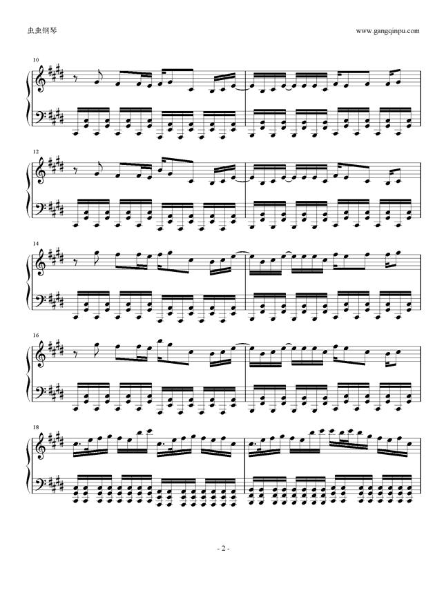 权御天下钢琴谱 第2页