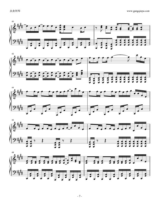 权御天下钢琴谱 第7页