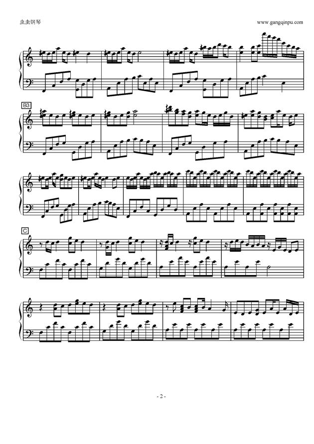 Luv Letter in C Major钢琴谱 第2页