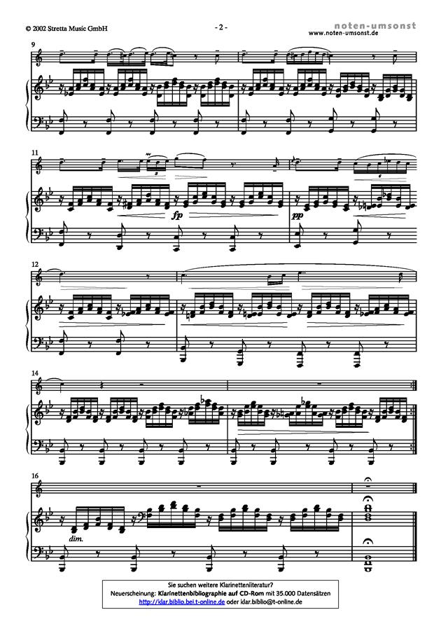 悲伤的圣母玛利亚钢琴谱 第2页